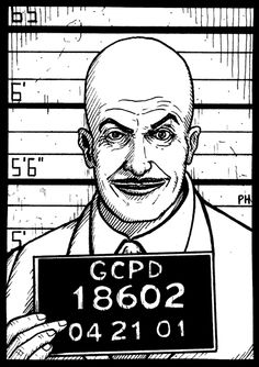 Vincent Price as Egghead by PaulHanley
