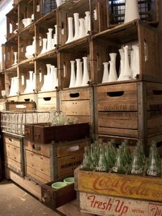 How cool is this?!   Á La Crate vintage rentals: a custom, found, and reclaimed event rental warehouse specializing in wedding  rentals, photo shoot props, party decor and accessories.  Located in Madison, WI.