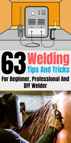 Lets say your new to welding and you have no idea where to begin. No problem I got you covered. Here and some tips and tricks to get you welding fast even if you dont know an angle grinder from a clamp. Welding Rods, Mig Welding, Welding Table, Metal Welding, Welding Art, Welding Crafts, Welding Projects, Welding Ideas, Welding For Beginners