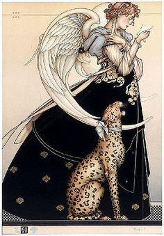 art, illustration, // The Angel of Corinth - Michael Parkes Julie Bell, Magic Realism, Park Art, Angels Among Us, Art Moderne, Angel Art, Wood Angel, Wassily Kandinsky, Surreal Art