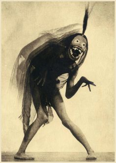 "William Mortensen (1897-1965) - art study from ""West of Zanzibar"". Mortensen worked closely with Lon Chaney, designing all of the masks he wore in this production . {les-sources-du-nil.tumblr.com}."