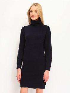 Γυναικείο ζιβάγκο φόρεμα.  Χρώμα: Μαύρο. High Neck Dress, Dresses, Fashion, Turtleneck Dress, Gowns, Moda, Fashion Styles, Dress, Vestidos
