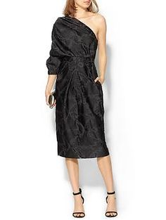 Jill Stuart Agathe Dress | Piperlime I happen to think this is an AMAZING choice for  mother of the bride for a fall or winter wedding... posibly even summer or spring for black tie in eve. Edgy but chic. LOVE