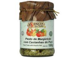 Pesto de manjericão com castanhas do Pará | 160g