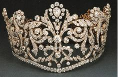 Diamond tiara, Later owned by HRH Princess Margaret.