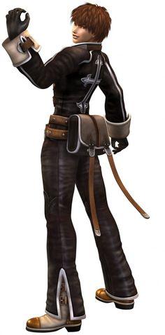 Yuri Hyuga Shadow Hearts Covenant Outfit
