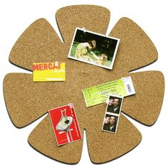 Flower Cork Board $24  made from renewable cork and recycled fiberwood