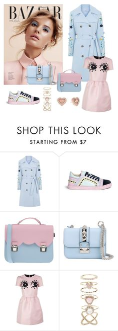 """Pantone colours of 2016"" by victoriabeijing ❤ liked on Polyvore featuring VIVETTA, Sophia Webster, La Cartella, Valentino, RED Valentino, Accessorize and Michael Kors"