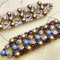 We had an insanely busy day and weekend of RounDuo two hole bead orders, but hoping to finish this new design soon!  We are glad that so many of you will be working with #RounDuo beads in the next few days!