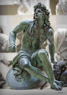 Captifs (Espagne) -- Martin Van Den Bogaert (Desjardins) -- 1637-1694 -- Musée du Louvre, Paris