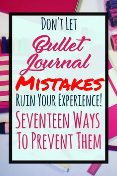 It's normal to make mistakes in your bullet journal, so don't let that get you down! Conquer it with one of 17 clever ideas for fixing your bujo mistakes! Bullet Journal Tracker, Bullet Journal Printables, Bullet Journal How To Start A, Bullet Journal Spread, Bullet Journal Layout, Bullet Journals, Bujo Inspiration, Bullet Journal Inspiration, Journal Ideas