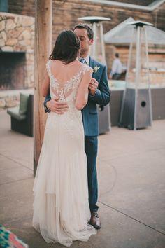 "Wedding Dress: Sarah Janks ""Briana"" via Lovely Bride"