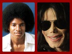 Michael Joseph Jackson   #beforeandafter