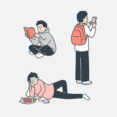 Simple Illustration, Manga Illustration, Character Illustration, Outline Illustration, Simple Character, Character Art, Character Design, Graphic Design Posters, Graphic Design Inspiration