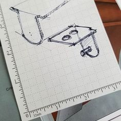 Drawing of metal bracket for the leg support for my miter saw wings. Miter Saw, Metal, Drawings, Sketches, Metals, Sketch, Drawing, Portrait, Router Jig