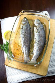Gegrilde forel ingepakt in pancetta | Gegrilde forel, Forel