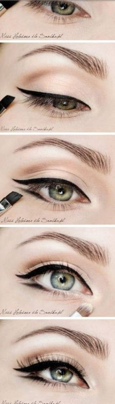 Smart way to do eye makeup