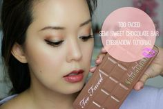 Too Faced Semi Sweet Chocolate Bar Palette Makeup Tutorial