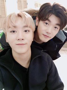 boo seungkwan & eric nam | seventeen