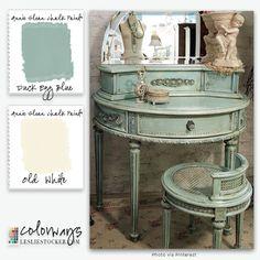 Annie Sloan Chalk Paint® Reader Request | Colorways with Leslie Stocker