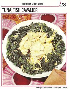 how can tuna be cavalier? Did it suddenly become a snob?