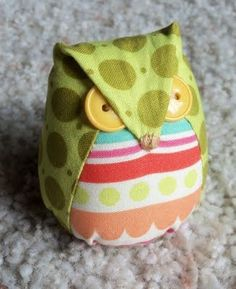 Owl pincushion