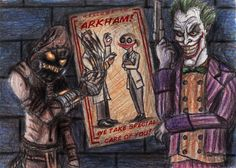 The Good Doctors by Cannonbawl Scarecrow Dc, Dc Comics Characters, Fictional Characters, Jonathan Crane, Arkham Asylum, Mark Hamill, Good Doctor, Comic Character, Dc Universe