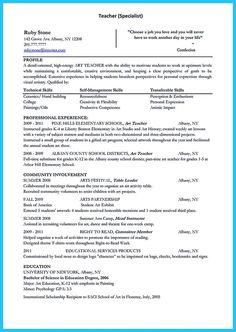 Resume Objective Examples, Resume Template Examples, Job Resume Examples, Best Resume Template, Resume Tips, Resume Writer, Student Resume, Student Work, Elementary Teacher Resume