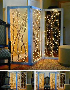 Twinkling Room Dividers