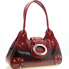 Alligator Skin Embossed Handbag $48.00