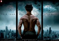 NO NOVELTY IN #DHOOM 3 MOTION POSTER #fridaymoviez