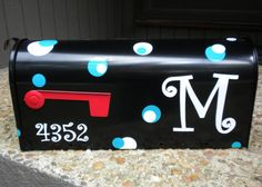 Personalized Mail Box (Small). $45.00, via Etsy.