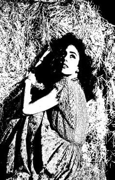 Jennifer Jones In The Hay