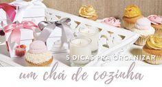 5 dicas para organizar um chá de cozinha