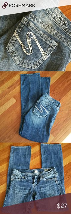 Silver Aiko Bootcut 27x35, nice and soft. Silver Jeans Jeans Boot Cut