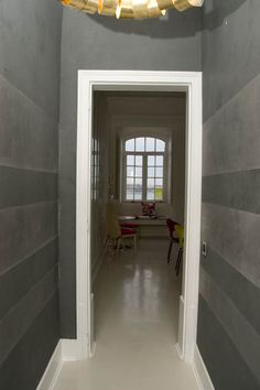 Wall finishes - #wall - stripes venezian stucco and marmorino by ms decorazioni