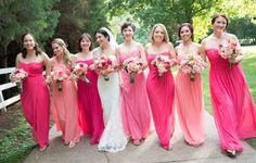 Romantic Pink and Coral Summer Wedding at Historic Cedarwood   Cedarwood Weddings