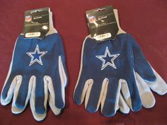 TWO (2) PAIRS OF DALLAS COWBOYS, ALL PURPOSE SPORT UTILITY GLOVES #DallasCowboys