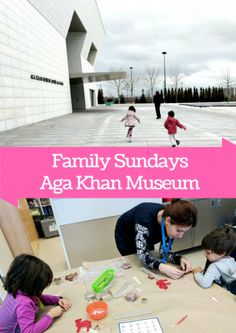 A visit to Toronto's Aga Khan Museum with kids on a Family Sunday