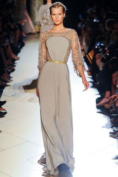 Elie Saab Fall 2012 Couture. So stunning, so chic.