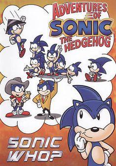 Adventures of Sonic the Hedgehog: Sonic Who? DVD Region 1