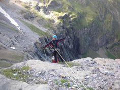 Descenso de La Gran Cascada de Gavarnie, Circo de Gavarnie.