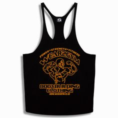 BODYBUILDING SPORT MUSCLE Y BACK STRINGER VEST WEAR2GYM DESIGN SIZES S to XXL