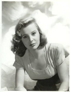 June Allyson (October 1917 – July was an American stage, film, and television actress. Old Hollywood Movies, Old Hollywood Glamour, Golden Age Of Hollywood, Vintage Glamour, Vintage Hollywood, Hollywood Stars, Hollywood Actresses, Classic Hollywood, Actors & Actresses