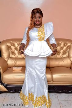 Mode africaine bazin Used Marriage ceremony Clothes When you occur to seek out your soul mate, that African Lace Dresses, Latest African Fashion Dresses, African Dresses For Women, African Print Fashion, Africa Fashion, African Attire, African Wear, African Women, Women's Fashion