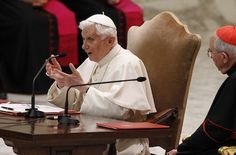 "I didn't try to cover up child abuse, says Benedict XVI -- Just as it is wrong ""to be silent about the evil in the church,"" it is wrong to remain silent about the good, holy and loving service the church has offered, he said."