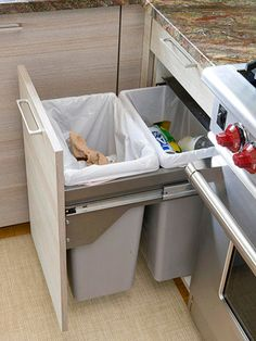 kitchen recycling organization