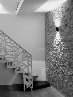 Scari interioare moderne - Traforate.ro Stairs, Interior, House Ideas, Design, Home Decor, Wrought Iron Stairs, Ladders, Indoor, Homemade Home Decor