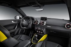 Interior - Audi S1 Sportback