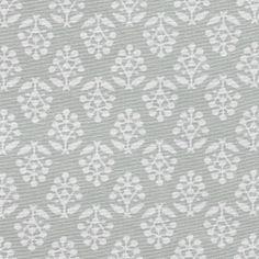 Dove Grey Sprig Cotton – 385 | Susie Watson Designs | Susie Watson Designs